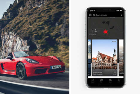 Scenic Route Driving Apps