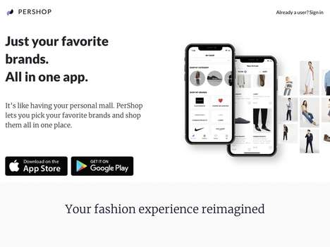 Brand-Specific Shopping Apps