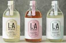 Apothecary-Style Kombucha Packaging