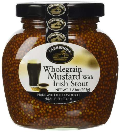 Alcohol-Infused Irish Mustards