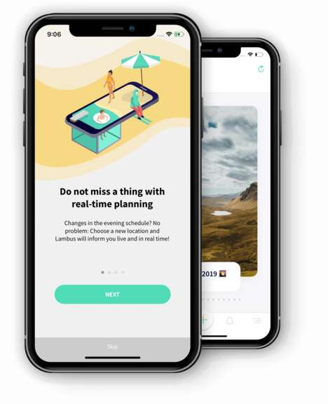 Integrated Group Travel Apps -