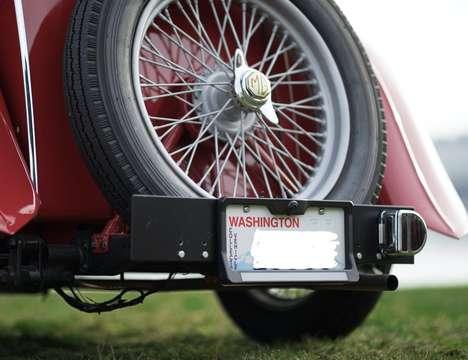 Solar-Powered Backup Cameras