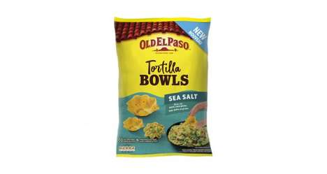 Bowl-Inspired Tortilla Chips