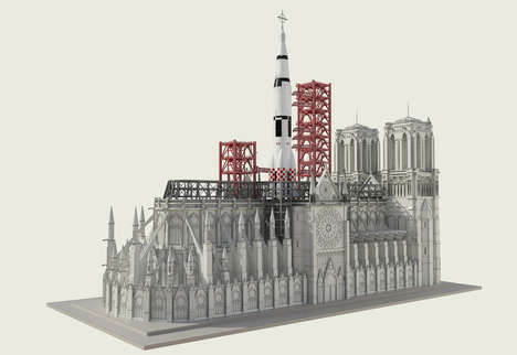 Rocket Launchpad Cathedrals