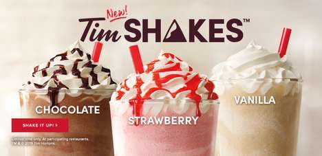 Classic Soft Serve Shakes