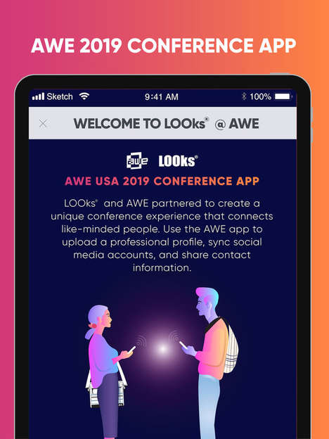 Mixed-Reality Conference Apps
