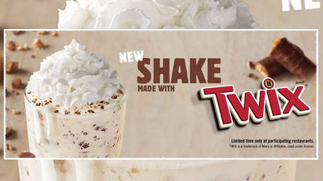Candy Bar-Blended Shakes