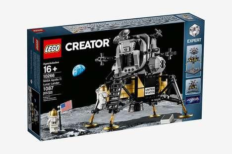 Celebratory Moon Landing Toys