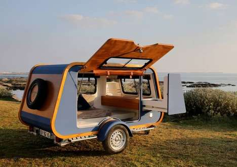 Romantic Well-Equipped Camper Trailers