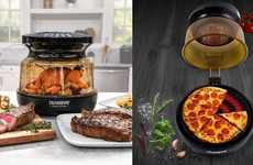 Dual-Heating Countertop Cookers