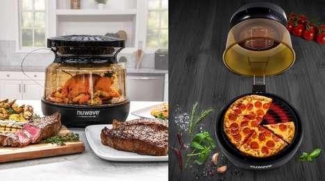 Dual-Heating Countertop Cookers