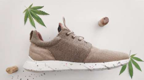 Waterproof Hemp Sneakers