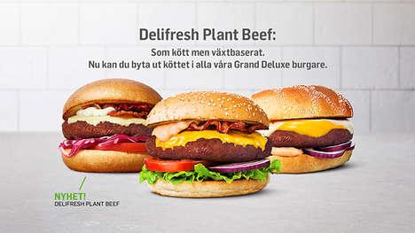 Carnivore-Targeted Meatless Burgers