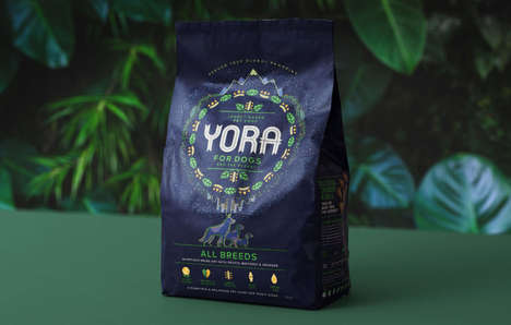 Insect-Based Dog Foods - 'Yora' is an Innovative Dog Food with a Single Protein Source
