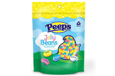 Marshmallow-Flavored Jelly Beans