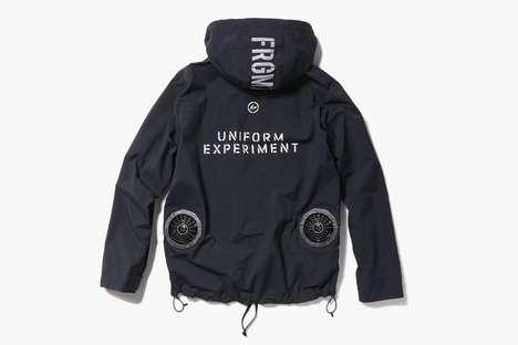 Built-In Fan Waterproof Jackets