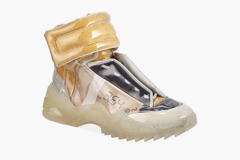 Glossy Avant Garde Sneakers