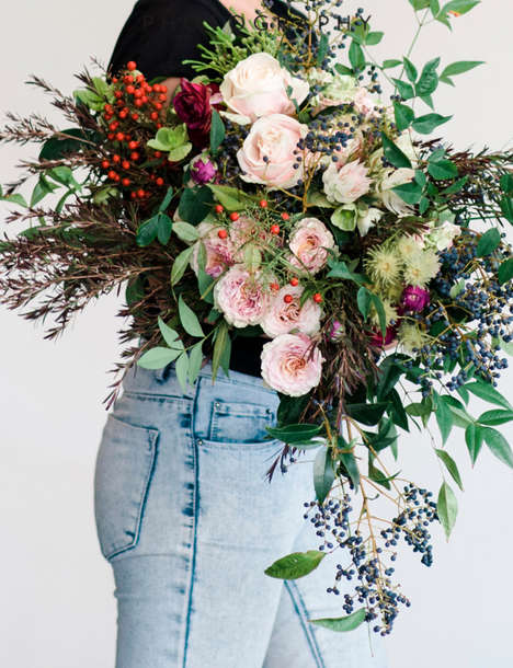 Organic Flower Delivery Services