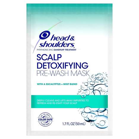 Detoxifying Pre-Shampoo Masks