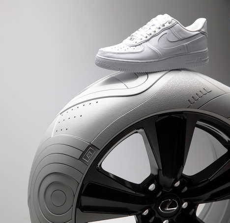Sneaker-Inspired Tire Designs