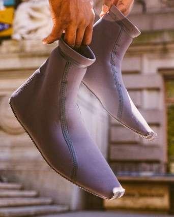 Luxe Streetwear Scuba Boots