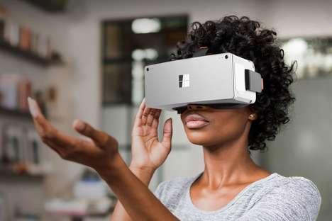 Branded Angular VR Headsets