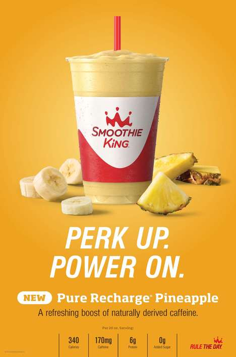 Energizing Pineapple Smoothies