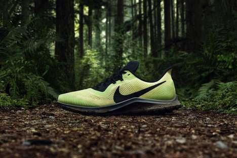 Corrugated Lunar Surface Sneakers : Nike Moonwalker