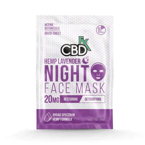 CBD-Powered Face Masks
