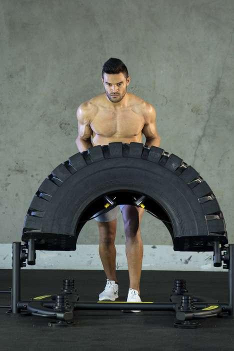 Safety-Focused Tire Training Equipment