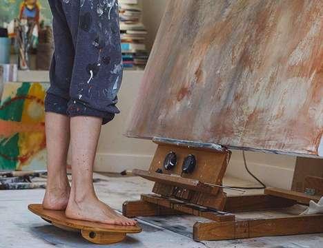 Surfing-Inspired Standing Desk Boards