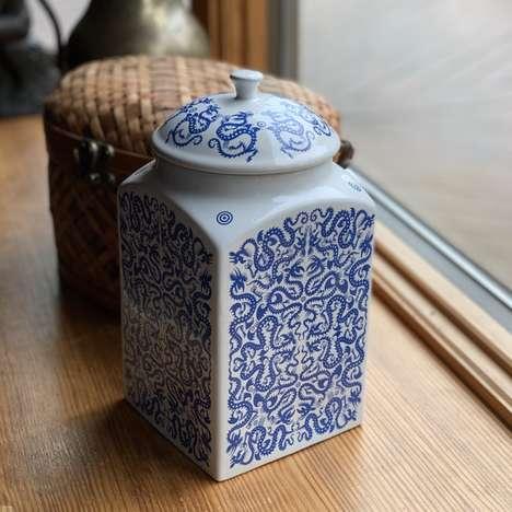 Humorous Japanese-Inspired Dishware