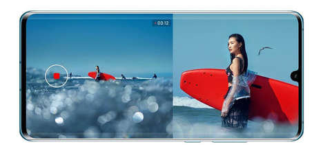 Split-Screen Smartphone Cameras