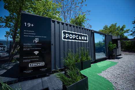Prefabricated Cannabis Retail Stores