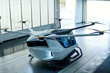 Hydrogen-Powered Air Taxis