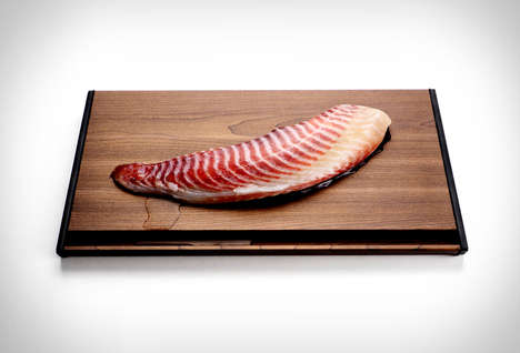 Wooden Food Defrosting Boards