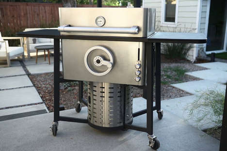 Dynamic Adjustable BBQ Grills