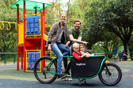 Power-Assist Family Transport Bikes