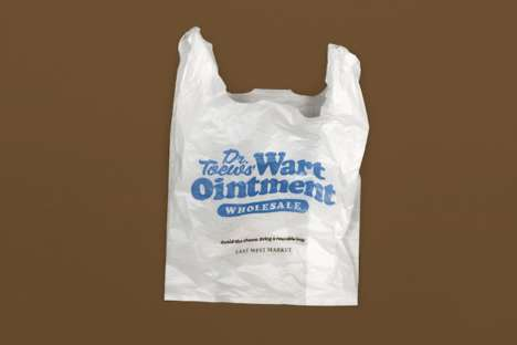 Humorous Anti-Plastic Bag Campaigns