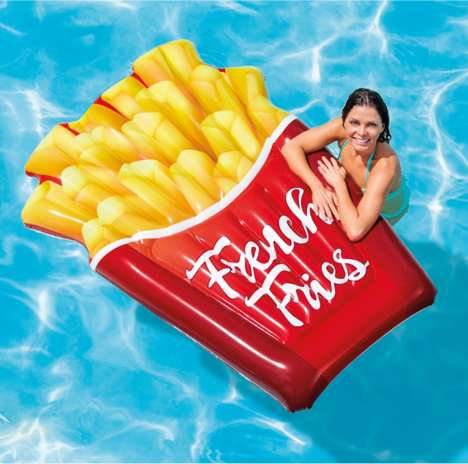 Fast Food-Themed Floaties