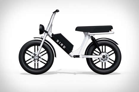 Moped-Style Electric Scooters