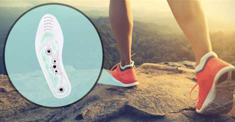 Foot-Massaging Insoles
