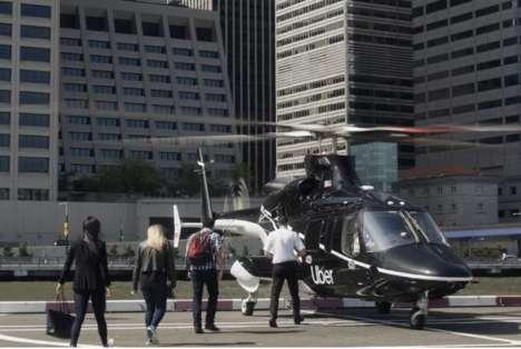 Helicopter Transportation Apps