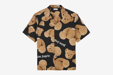 Graphic Teddy Bear Fashion