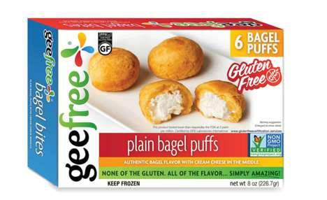 Gluten-Free Frozen Bagel Snacks
