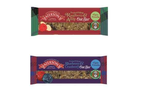 Vegan Oat-Based Snack Bars