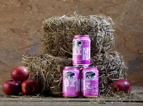 Refreshing Rose-Colored Ciders