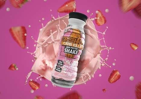 Milkshake-Inspired Protein Drinks