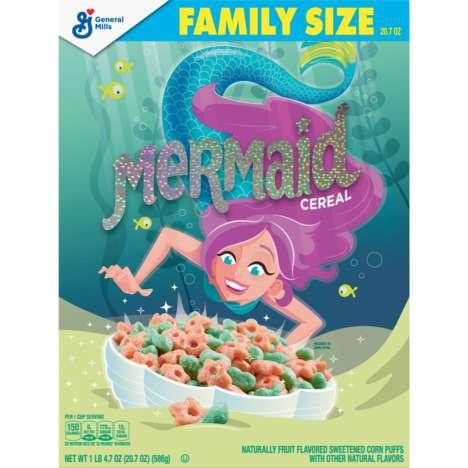 Fruity Mermaid Cereals