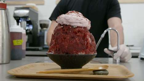 Massive Shaved Ice Desserts